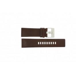 Diesel horlogeband DZ1118 Leder Bruin 26mm
