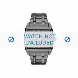 Diesel horlogeband DZ1706 Roestvrij staal (RVS) Grijs 30mm