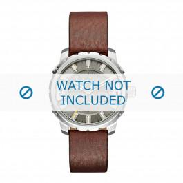 Diesel horlogeband DZ1724 Leder Bruin 20mm