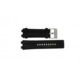 Horlogeband Diesel DZ4118 / DZ4119 Leder Zwart 20mm