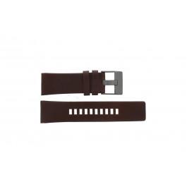 Horlogeband Diesel DZ4210 Leder Bruin 26mm
