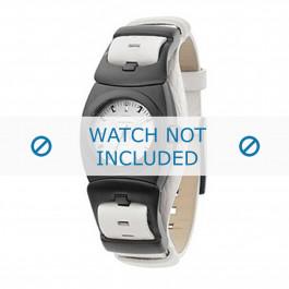 Diesel horlogeband DZ5059 Leder Wit 15mm
