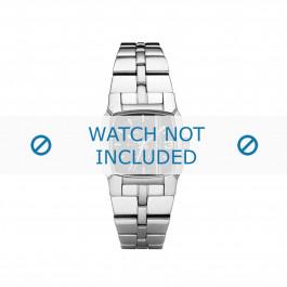 Diesel horlogeband DZ5229 Roestvrij staal (RVS) Zilver 21mm