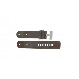 Diesel horlogeband DZ9004 Leder Zwart 36mm
