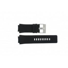 Horlogeband Diesel DZ1109 Leder Zwart 20mm