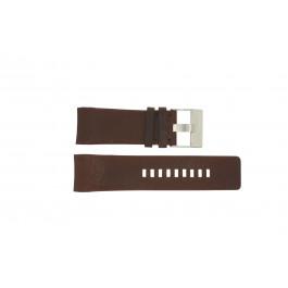 Horlogeband Diesel DZ4029 / DZ4033 Leder Bruin 28mm