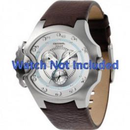 Horlogeband Diesel DZ4132 Leder Bruin 17mm