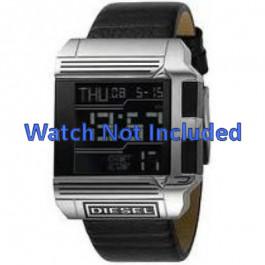 Horlogeband Diesel DZ7113 Leder Zwart 26mm