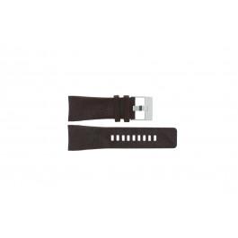 Horlogeband Diesel DZ1317 Leder Bruin 29mm