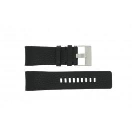 Horlogeband Diesel DZ4031 / DZ4032 / DZ4028 Leder Zwart 29mm