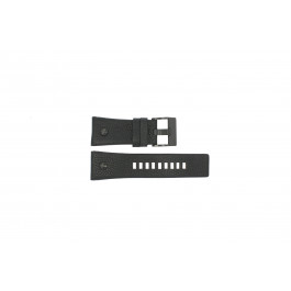 Horlogeband Diesel DZ7127 Leder Zwart 29mm