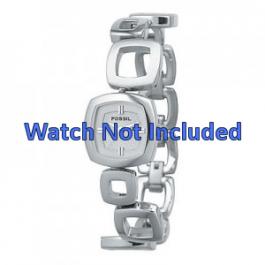 Fossil horlogeband ES1869 / ES1884 / ES1964 Staal Zilver 15mm