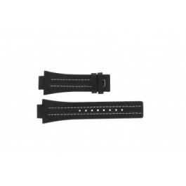 Horlogeband Festina F16185 / 1 Leder Zwart 16mm
