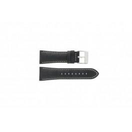 Horlogeband Festina F16235-6 / F16235-F Leder Zwart 28mm