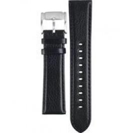 Horlogeband Fossil FS4545 Leder Zwart 22mm