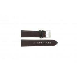 Horlogeband Fossil ME1020 Leder Bruin 24mm