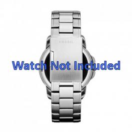 Horlogeband Fossil FS4734 Staal 22mm