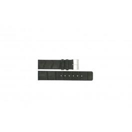 Horlogeband Universeel G810 Leder Grijs 20mm