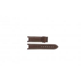 Horlogeband Guess GC31000G1 / GC31000G / X44001G1 / I45003G1 Leder Bruin 12mm