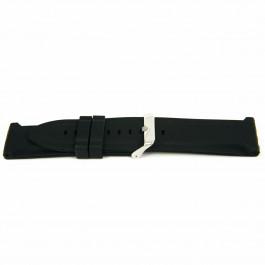 Horlogeband Universeel XJ15 Silicoon Zwart 26mm
