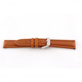 Horlogeband Universeel H385 Leder Cognac 22mm
