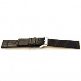 Horlogeband Universeel G350 Leder Bruin 20mm