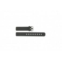 Jacob Jensen horlogeband 700 serie Rubber Donkergrijs 17mm