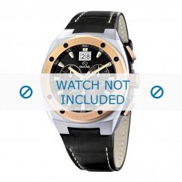 Horlogeband Jaguar J625-1 / J620 Leder Zwart 16mm