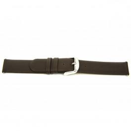 Horlogeband Universeel F300 Leder Bruin 18mm