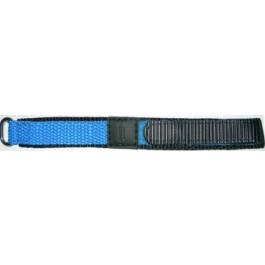 Horlogeband Condor KLITTENBAND 412R Klittenband Lichtblauw 14mm