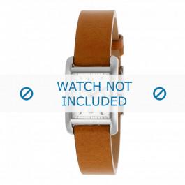 Michael Kors horlogeband MK2257 Leder Cognac 14mm