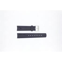 Horlogeband Nautica A18640G / A30004G / A12627G / A12627G Rubber Blauw 22mm