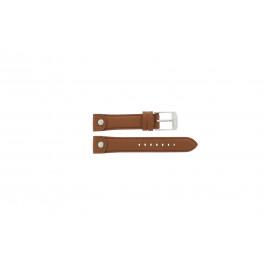 Horlogeband Michael Kors MK2165 Leder Bruin 18mm