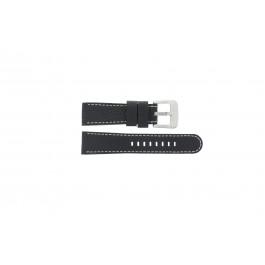 Horlogeband Danish Design IQ13Q712 Leder Zwart 20mm