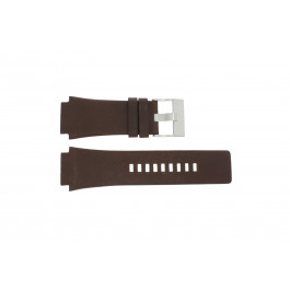 Horlogeband Diesel DZ1132 Leder Bruin 25mm