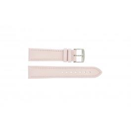 Horlogeband Universeel 283R.14 Leder Roze 18mm