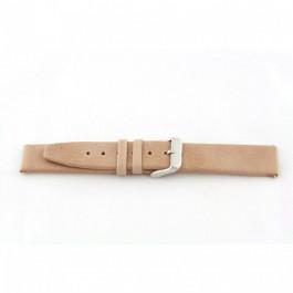 Horlogeband Universeel H850 Leder Beige 22mm