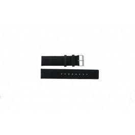Horlogeband Skagen 241LSLC Leder Zwart 20mm