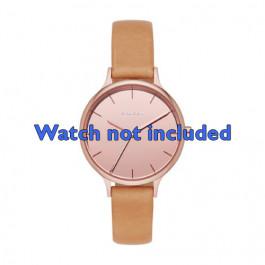 Horlogeband Skagen SKW2412 Leder Bruin 12mm