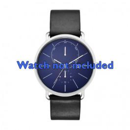 Skagen horlogeband SKW6241 Leder Zwart 20mm