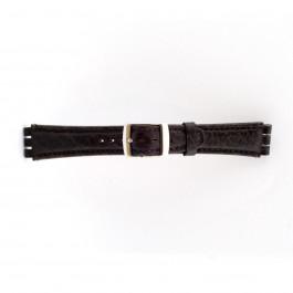 Horlogeband Swatch (alt.) 21412.27 Leder Bruin 19mm