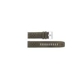 Horlogeband Timex P49626 Leder Bruin 22mm