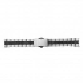 TW Steel horlogeband TWB125 Roestvrij staal (RVS) Zilver 22mm