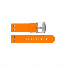 Horlogeband TW Steel TWB530 Silicoon Oranje 21mm