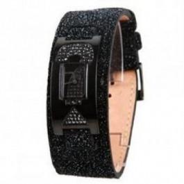 Horlogeband Guess W10262L1 Leder Zwart
