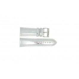 Horlogeband Universeel 369.31 Leder Grijs 26mm