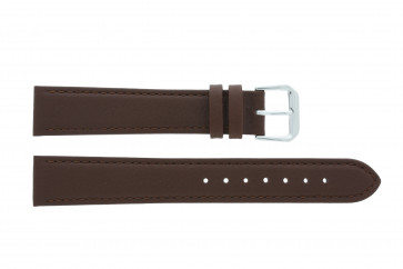 Horlogeband Universeel 054.02 Leder Bruin 16mm