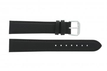 Echt leder zwart 12mm 054.01