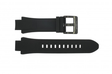 Horlogeband Invicta 15397 / 15397.01 Rubber Zwart 18mm