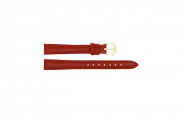 Horlogeband Universeel 241R.06 Leder Rood 12mm